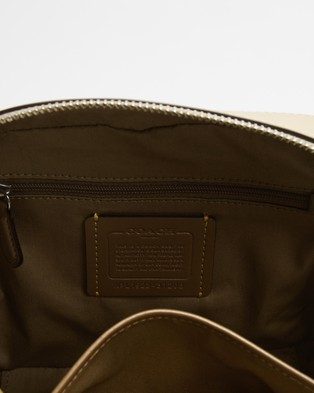 Coach Camera Bag - Bags (Sand & Taupe)