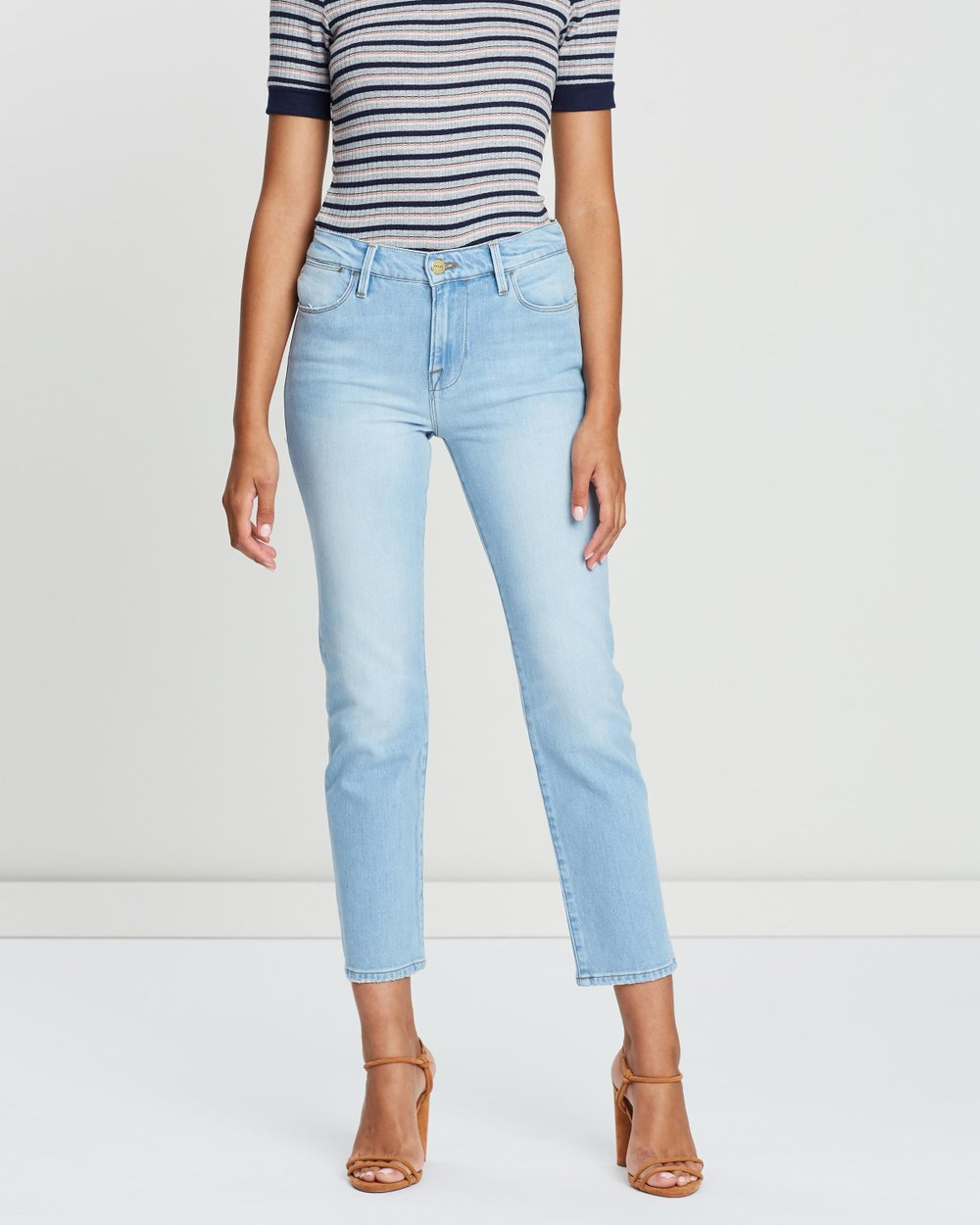 ccae3f6035118 Le High Straight Jeans by Frame Denim Online