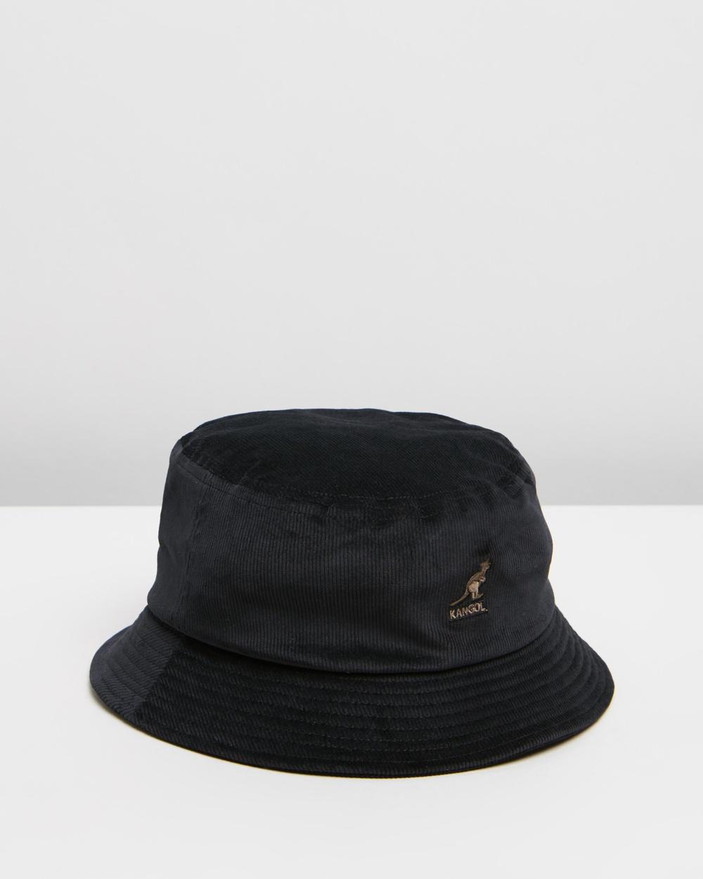 Kangol Cord Bucket Hat Hats Black