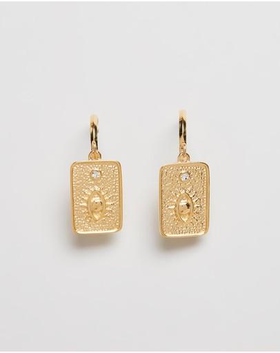 Carly Paiker Deity Earrings Gold