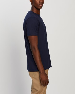 Gramicci One Point Tee - T-Shirts & Singlets (Navy)