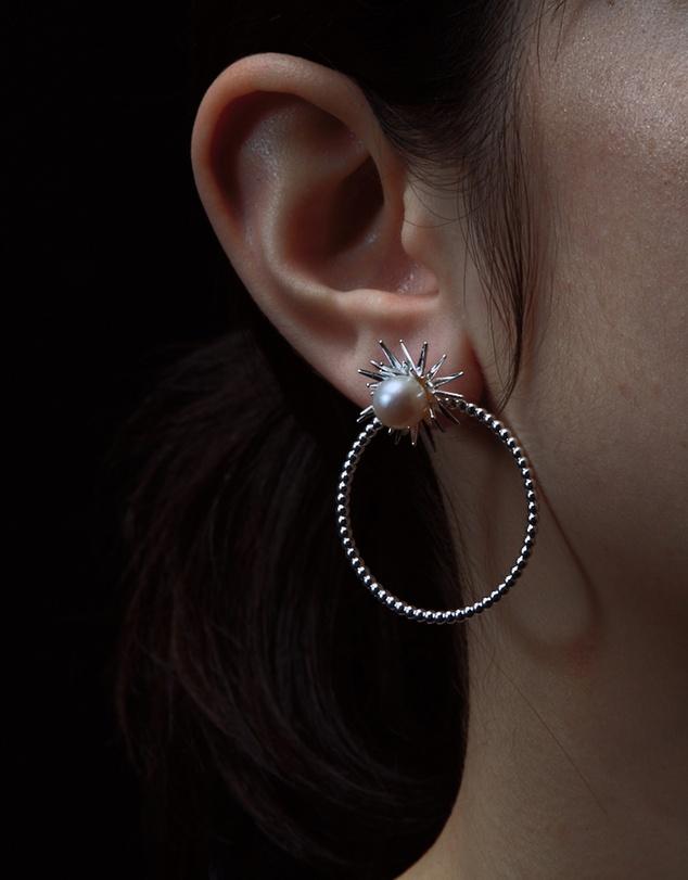 Women Forbidden Stud and Hoop Earrings