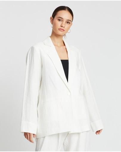 Matin Slouch Jacket Ivory