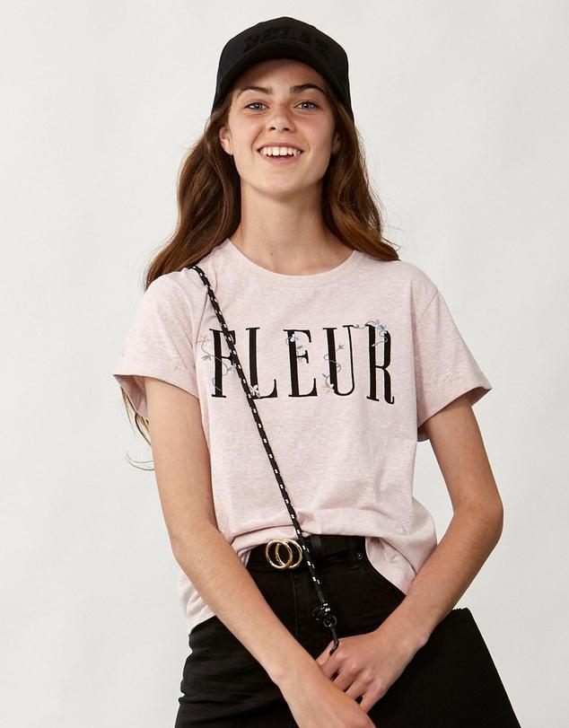 Kids Fleur Floral Tee -Kids-Teens
