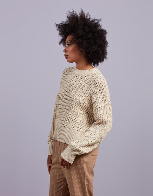 Women Eden Waffle Knit Jumper