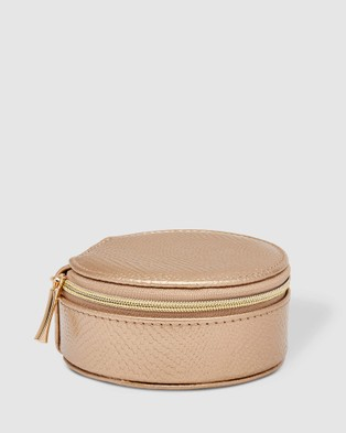 Louenhide Sisco Jewellery Box - Travel and Luggage (Champagne)