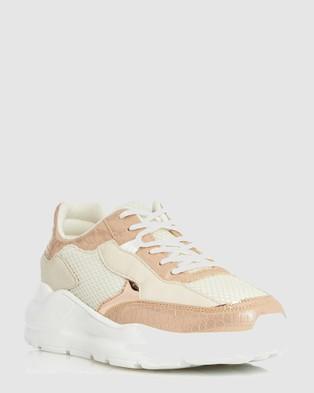 Dune London - Esmey Di Low Top Sneakers (Rose Gold)