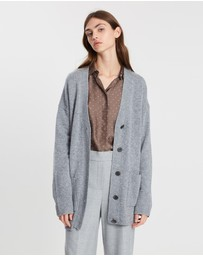 Theory - Oversize Placket Cardigan