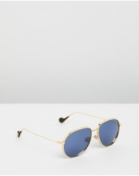 Moncler - ML0120 Metal Sunglasses