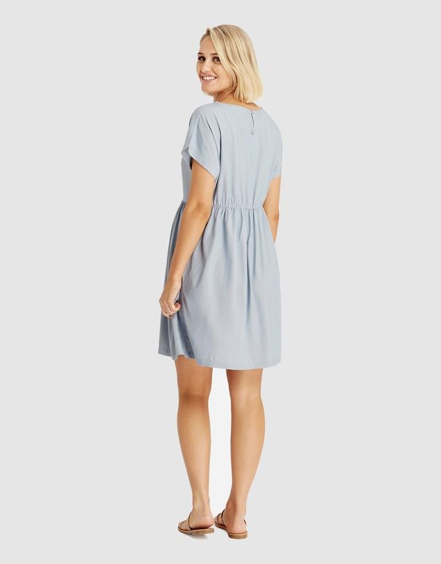 Women Woven Smock Dress