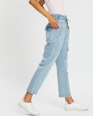 DRICOPER DENIM Utility Denim Jeans - High-Waisted (Sun Bleached)