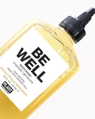 Plant Apothecary Be Well   Body Wash - Beauty (Yellow)
