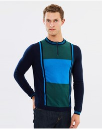 PS by Paul Smith - Cycle Zip-Neck Top
