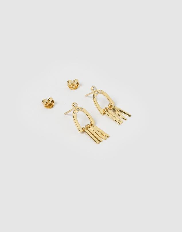 Women Dami Gold Earrings