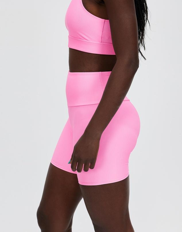 Women Rib Bike Shorts