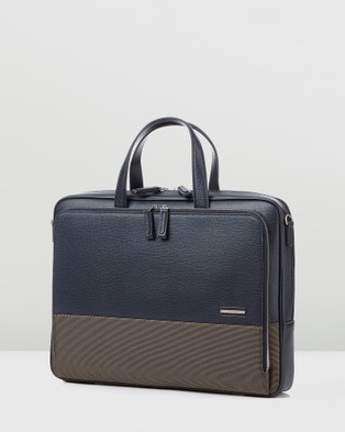 Samsonite Red Dawone Briefcase - Bags (Navy)