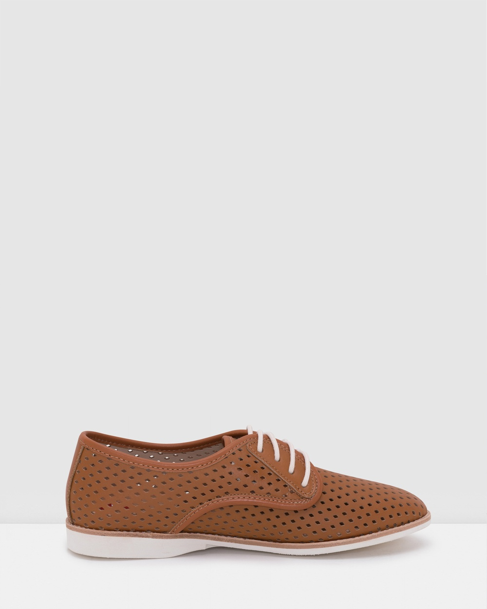Rollie Derby Punch Shoes Flats Brown Australia