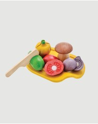 PlanToys - Assorted Vegetable Set - 18+ months