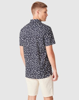 French Connection Fish Regular Fit Shirt - Casual shirts (MARINE BLUE)