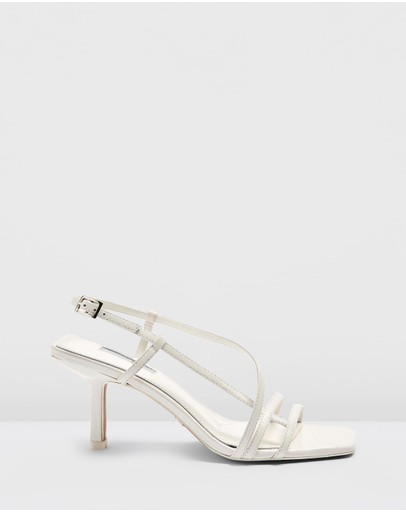 TOPSHOP - Strippy Heeled Sandals