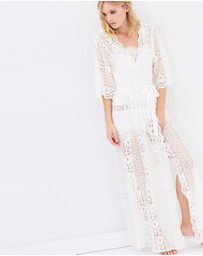 Homebodii - Willow Boho Lace Robe