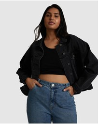 Cotton On Curve - 90s Baggy Denim Jacket