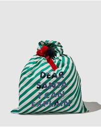 Cotton On Kids - Slogan Santa Sack