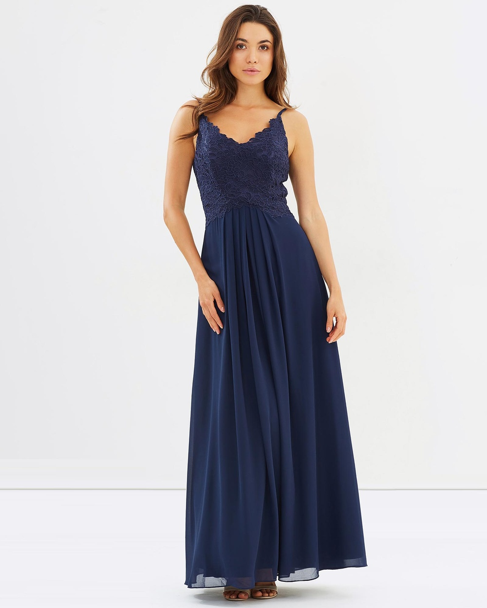 Alabaster The Label New Romantic Dress Bridesmaid Dresses Navy New Romantic Dress