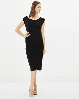 Lincoln St – Sleeveless Drape Dress