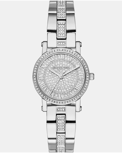 Michael Kors - Petite Norie Silver-Tone Analogue Watch