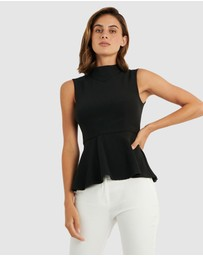 Forcast - Iman Peplum Top