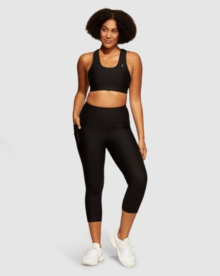 dk active Elite Midi Tight - 1/2 Tights (Black)