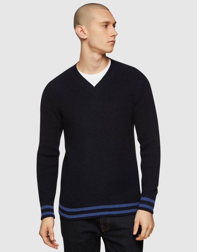 Oxford - Porter V-Neck Knit