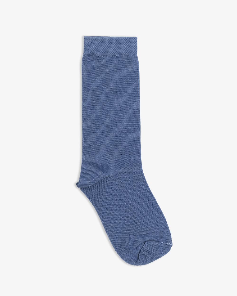NICO Amber Organic Cotton Crew Socks Colony Blue Colony Blue