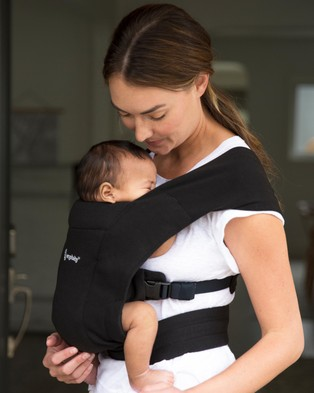 Ergobaby Ergobaby Embrace Carrier - All Baby Carriers (Pure Black)