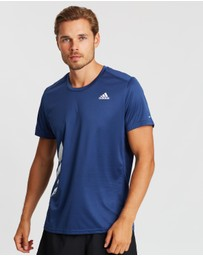 adidas Performance - Run It 3-Stripes PB Tee