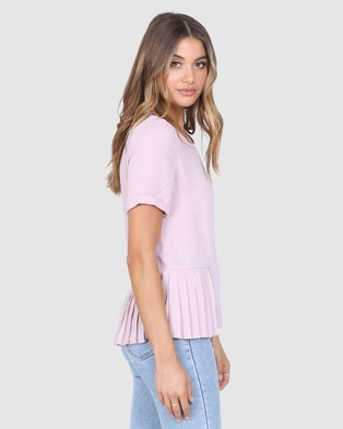 Madison The Label Allure Top - Tops (Dusty Pink)