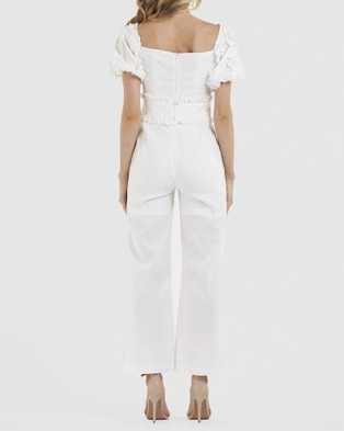 Amelius Insider Jumpsuit - Jumpsuits & Playsuits (White)