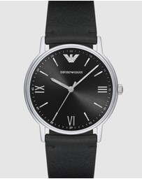 Black Analogue Watch