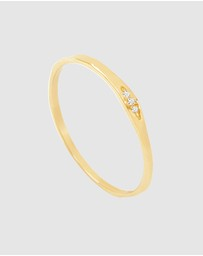 Luna Rae - Solid Gold - Milky Way Ring
