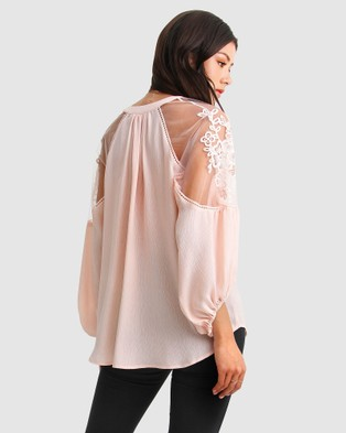 Belle & Bloom - Bronte Afternoon Blouse Tops (Blush)