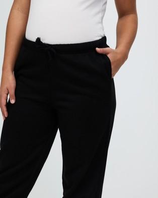 TOPSHOP Maternity Soft Oversized Joggers - Sweatpants (Black)