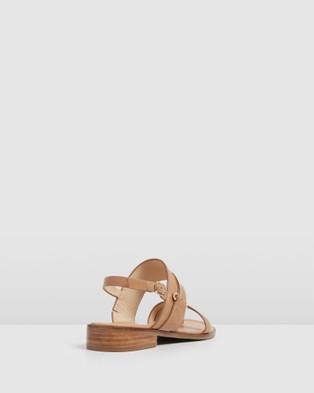 Jo Mercer Haven Flat Sandals - Sandals (NATURAL LEATHER)
