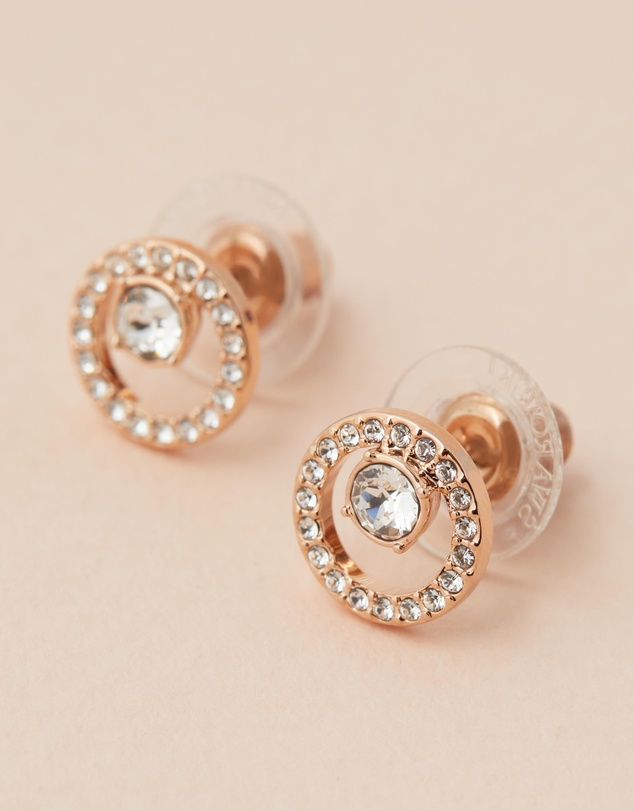 Swarovski - Creativity Circle Pierced Small Earrings