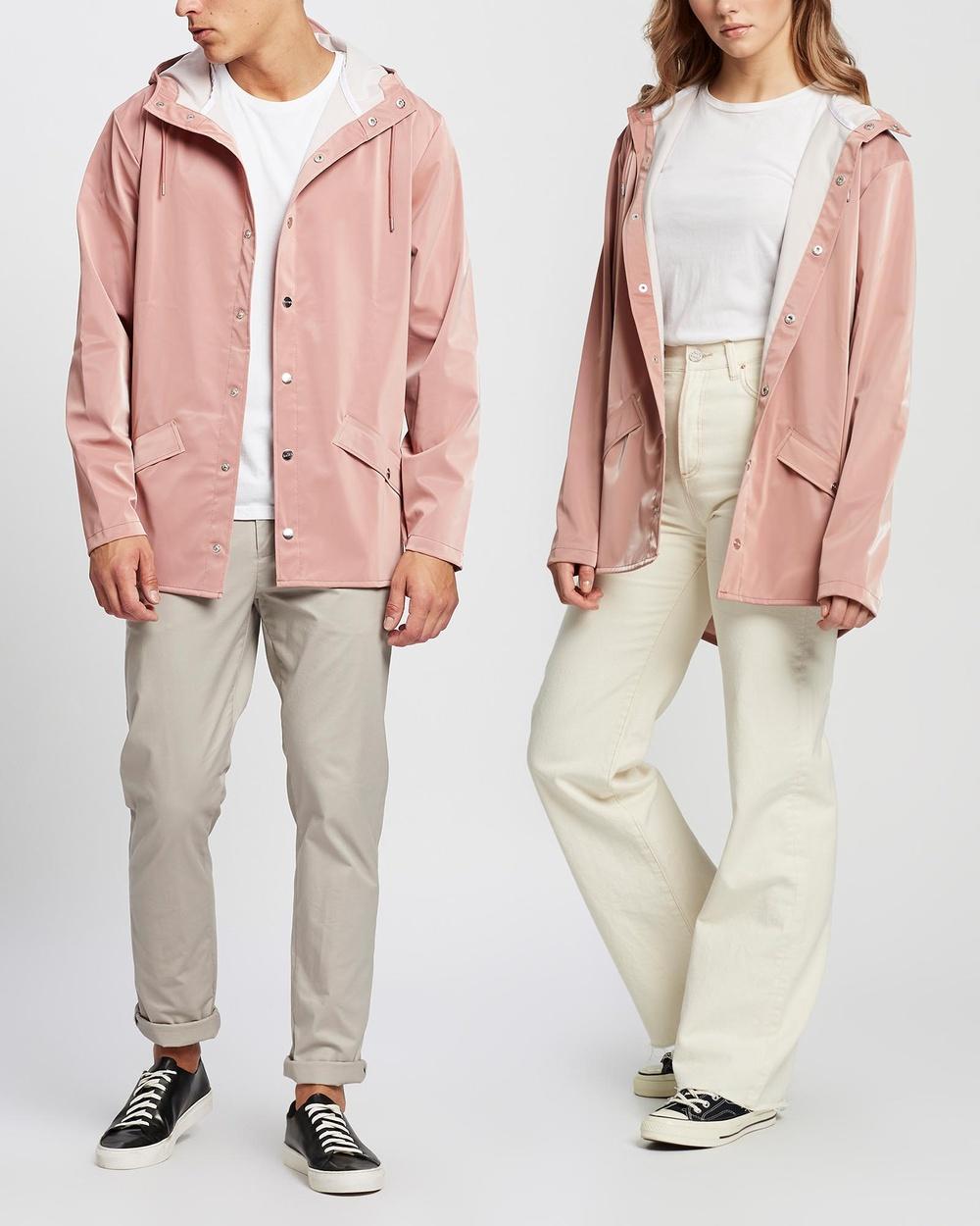 RAINS Jacket Unisex Coats & Jackets Blush