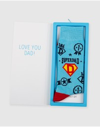 Bamboozld - Superdad Socks & Card