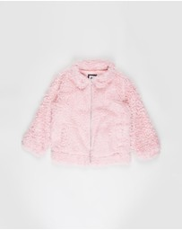 Cotton On Kids - Tash Teddy Slouch Jacket - Kids-Teens