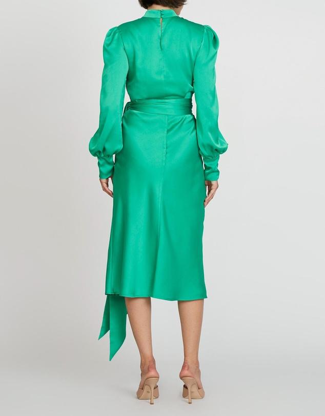Women Camellia Slice Midi Dress