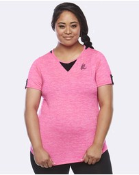 Curvy Chic Sports - Zest Short Sleeve Top
