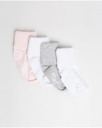 babyGap - 4-Pack Roll Crew Socks - Babies-Kids